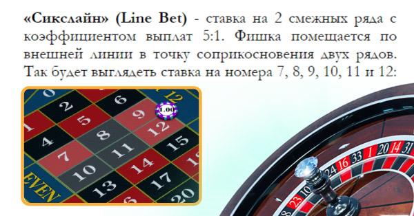 казино рулетка онлайн на рубли с