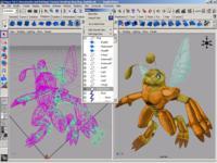 Анимация в maya