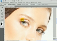 Как в Фотошопе сделать ресницы
