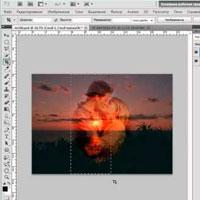 Фотомонтаж в фотошопе: Влюбленные на закате (видео обучение)