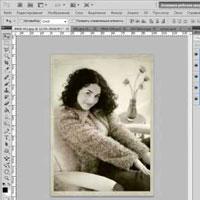 Ретро фото в фотошопе (видео урок)