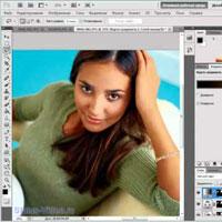 Как сделать загар в фотошопе (видео обучение)