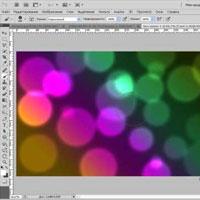 Эффект боке в фотошопе (видео обучение)
