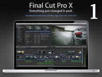 Уроки Final Cut Pro X ч.1 (онлайн видео)