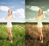 Цветокоррекция в фотошопе ч.2 (видео уроки)