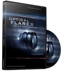 Обзор плагина Optical Flares для After Effects