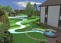 Создание ландшафта, дорожек и озеленения в ArchiCAD
