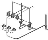 Схемы водоснабжения в ArchiCAD