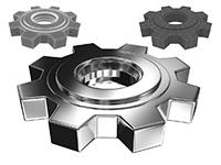 Создание 3D шестеренки