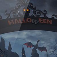 Эффектная сцена «Хэллоуин» в Cinema 4D