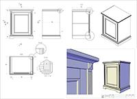 3D моделирование мебели в AutoCad