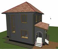Как построить крыльцо в ArchiCad