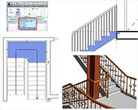 Построение лестниц в программе Revit