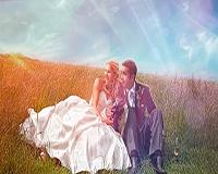 Художественная обработка свадебных фотографий