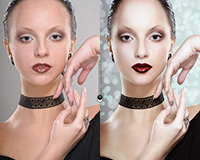 Как выровнять тон кожи в Photoshop