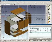 Создание мебели в AutoCAD