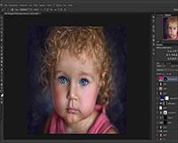 Художественная обработка детской фотографии