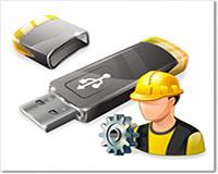 Перепрошивка и восстановление USB флешки