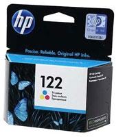 Замена картриджа HP 122